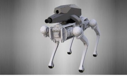 Oh Great, They're Putting Guns On Robodogs Now