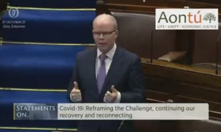 PEADAR TÓBÍN TD NAILS IT – COVID IS SPREADING RAPIDLY BETWEEN PEOPLE WHO ARE VACCINATED