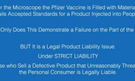 Medical Bombshell: Pfizer Vax Attacks Human Blood Creating Clots Under Microscope