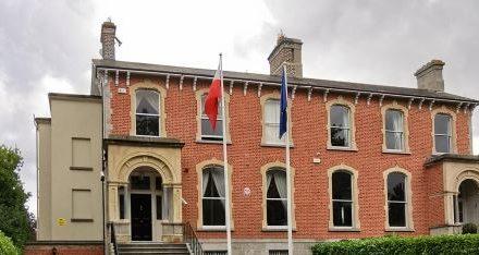 POLISH EMBASSY REACTS ANGRILY TO IRISH GOVERNMENT'S SLUR